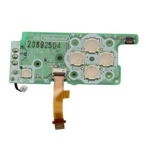 Nintendo DSi power F1 F2 Fuse Directional button replacement PCB circuit board