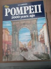 Bonechi Guides: Pompeii Two Thousand Years Ago by A. C. Carpiceci (1986, Paperba