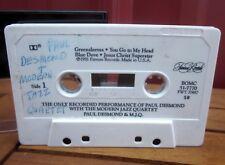 PAUL DESMOND Modern Jazz Quartet cassette tape Jesus Christ Superstar 1981