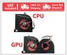 MSI Stealth Pro GS63 GS63VR GS73 GS73VR 7RF MS-16K2 MS-17B1 CPU GPU Cooling Fan