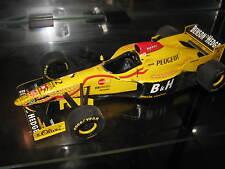 1:18 Jordan peugeot 196 G. Fisichella 1996 reconstruits transformation tabac brûlé B & H top