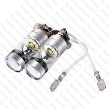 2X 100W LED NEBELSCHEINWERFER BIRNE H3 6000K TAGFAHRLICHT LAMPE Car KALTWEISS