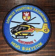 orig. POLAND Helicopter - Medevac Paramedic Flight SAR Aeromedical HEMS - PATCH