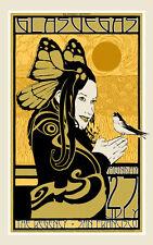 Chuck Sperry Concert Poster Glasvegas Gig Print The Regency San Francisco 2009