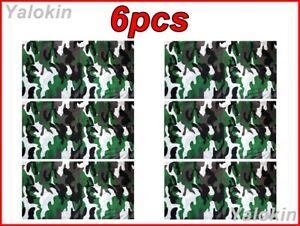 6pcs Camo MDGW Scarves Family Pack Elastic Print Gaiter Balaclava Bandana N75