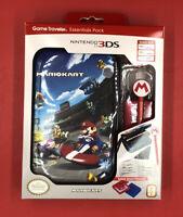 Nintendo 3DS 2DS XL Game Traveler Essentials Pack Super Mario Kart Case  NEW