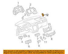 GM OEM Driver Information Center-Switch 15947841