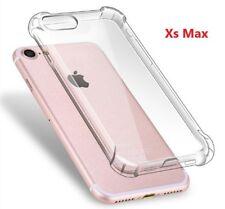 iPhone XS Max Clear Case Silicon Transparent Slim Bumper cover Gel TPU LOT 100x