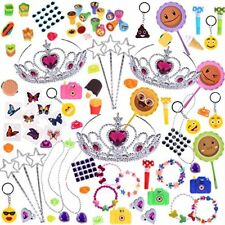 Princess Birthday Party Favor Treasure Box Prizes for Classroom Goodie Bag 100PC
