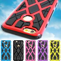 Slim Spider Web Hybrid Phone Cover Case Plus Screen for for Apple iPhone 6 (4.7)