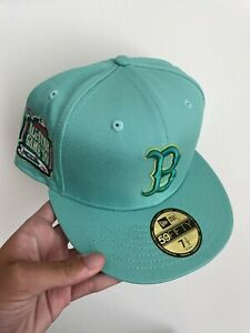 Boston Red Sox Bulbasaur Myfitteds Pokemon 59Fifty not hat club 7 1/2