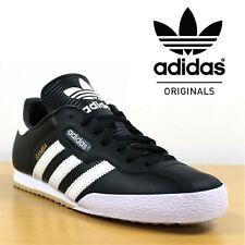 finest selection 0895e 23651 Adidas Originals SAMBA SUPER Retro Trainers Men s Casual Black Leather  Sneakers