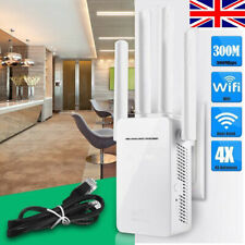 Wifi Extender Repeater 300Mbps Dual-Band Wireless Router Range Signal Booster UK
