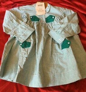 Vêtement enfant vintage année 60 Galopins tablier robe