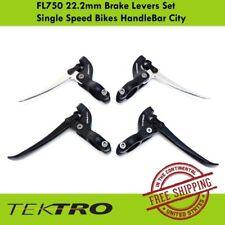 Tektro FL750 22.2mm Brake Levers Set Single Speed Bikes HandleBar City