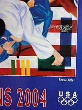 Athens 2004 Poster - Tribute to the US Olympic Team