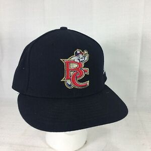 New Era 59FIFTY MILB Brevard County Manatees Black Fitted Hat Cap Size 7 1/8