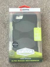GRIFFIN SURVIVOR FOR  IPHONE 7/8 MILITARY DUTY CASE COVER BELT CLIP FREE P&P