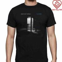 New Jimmy Eat World Futures Logo Men's Black T-Shirt Size S-3XL