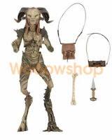 """Pan's Labyrinth Faun Guillermo Del Toro 7"""" Action Figure Deluxe NECA  Collection"""
