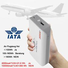USB Akku 6000mah Power Bank externer LED Zusatzakku Batterie Ladegerät