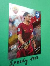PANINI Adrenalyn 2018 FIFA 365 tifosi Milestone AS ROMA TOTTI The Legend #231