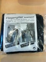 Fliegengitter Insektenschutz Fenster+Tür VORTEILSPACK 130x150 + 110x210cm