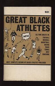 1969 Great Black Athletes Booklet EX+