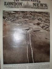 Photo article aerial view river Tone Taunton flood 1960