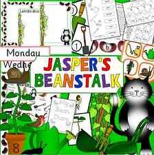JASPER'S BEANSTALK -teaching story resource CD - EYFS/ KS1 -Jaspers, growing