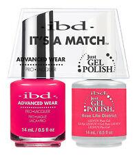 Ibd It's a match avanzado ropa duo Just gel & pulir Rose Lite District 65321