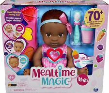 More details for luvabella mealtime magic maya baby doll