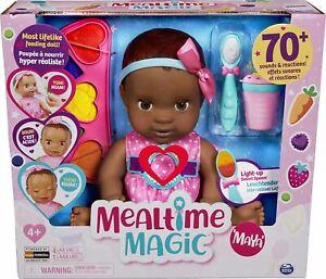 Luvabella Mealtime Magic Maya Baby Doll
