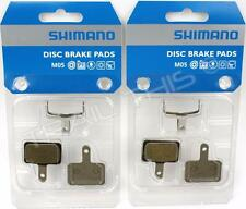 2 Packs Shimano M05 BR-M515 Resin Disc Brake Pads Fits Deore/Nexave MTB Calipers