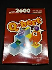 Q*Bert Video Game For Atari 2600 Red Label NEW