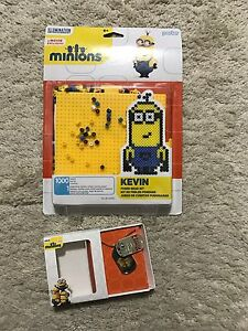 Minions Fused Bead Kit KEVIN 1000 beads / Minion Double Dogtag NEW