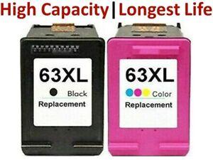 Black/TriColour 63 XL 63XL Ink Cartridges for HP 2130 2131 3630 3632 3830 4650