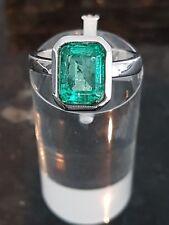 5,1g Smaragdring mit 2,86ct Top-Stein in bester Farbe & Reinheit Verlobungsring