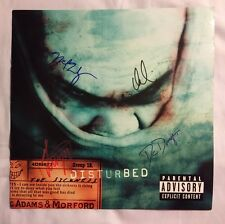 SIGNED The Sickness by Disturbed Record Album Photo ~~ ALL Signatures!