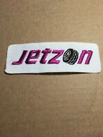 "Vtg Jetzon Tires Embroidered Patch Sew On Automotive Mechanic 4 1/2"" Badge Shop"