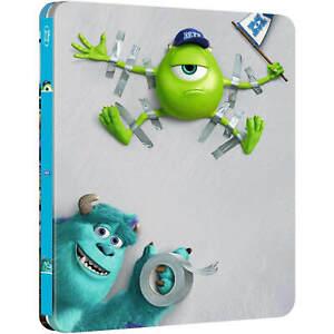 Monsters University - Blu-Ray Limited Edition Steelbook [Region Free, Zavvi] NEW