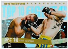 Paul Kelly Vs. Paul Taylor 2009 Topps UFC Round 1 Top 10 Fights Of 2008 Gold /88