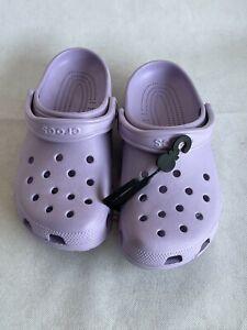 Crocs Classic Lavender Unisex Clog Slip On Slipper Shoe Sandal Size Men 7 Women9