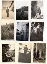 ORIGINAL VINTAGE GERMAN WW2 PHOTOS x 9 PORTRAITS-KAMERADENS