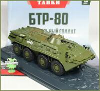 1:43 Schützenpanzerwagen BTR 80 Modimo russian Magazin №26 USSR Panzer Tanks