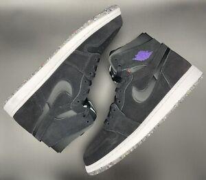 "Jordan 1 Retro High Zoom ""Court Purple"" Size 12 100% Authentic CT0978-005 New"