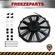 "12"" Electric Fan Radiator Cooling Thermo Fan Mounting Kit 12V 120W Universal Set"