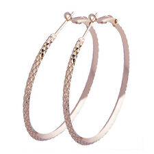 Fashion Round Circle Gold Novel Design Gorgeous Basketball Wives Hoop Earring