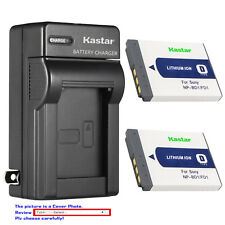Kastar Battery Wall Charger for Sony NP-BD1 NP-FD1 D Type Battery BC-CSD Charger