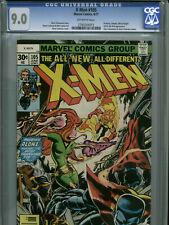 X-Men #105 - June, 1977 - CGC 9.0 (Chris Claremont and Dave Cockrum cameos)